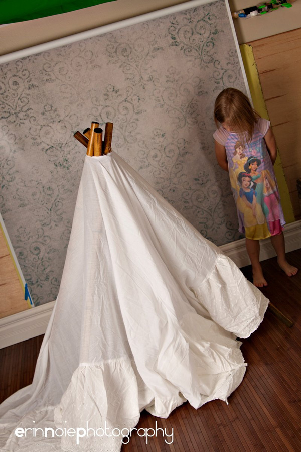 Diy Tutorial Teepee 187 Confessions Of A Prop Junkie