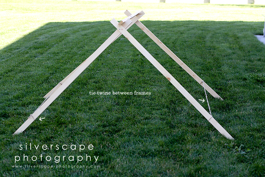 DIY Tutorial: A-Frame Tent » Confessions of a Prop Junkie