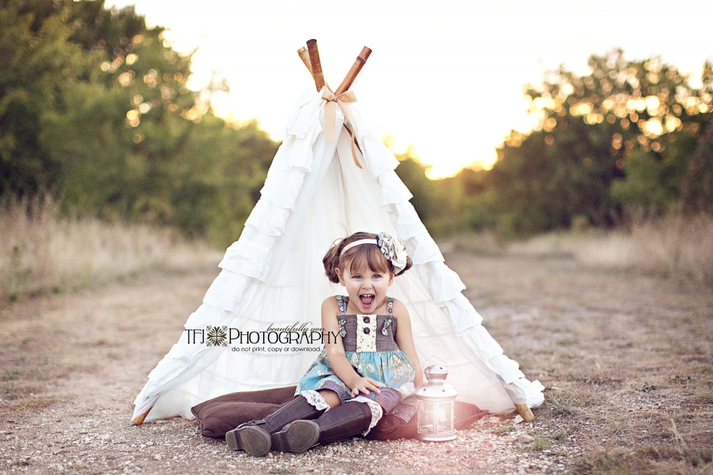 Diy Tutorial Ruffle Teepee 187 Confessions Of A Prop Junkie