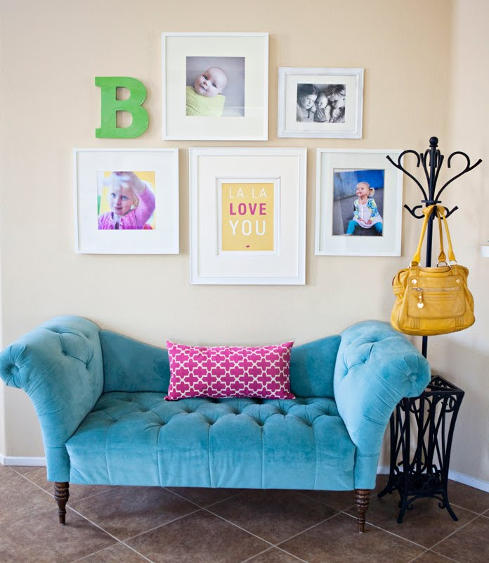 Wall Art Inspiration: Text and Monograms » Confessions of a Prop Junkie